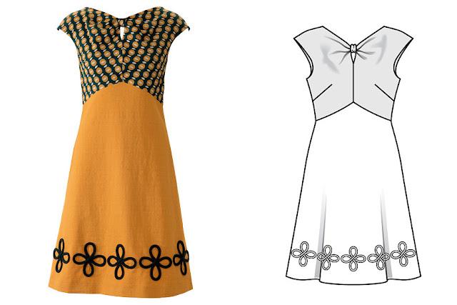 Burda 7 2018 elbise