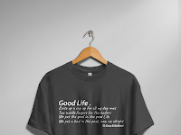 Design T-Shirt Streetwear Good Life