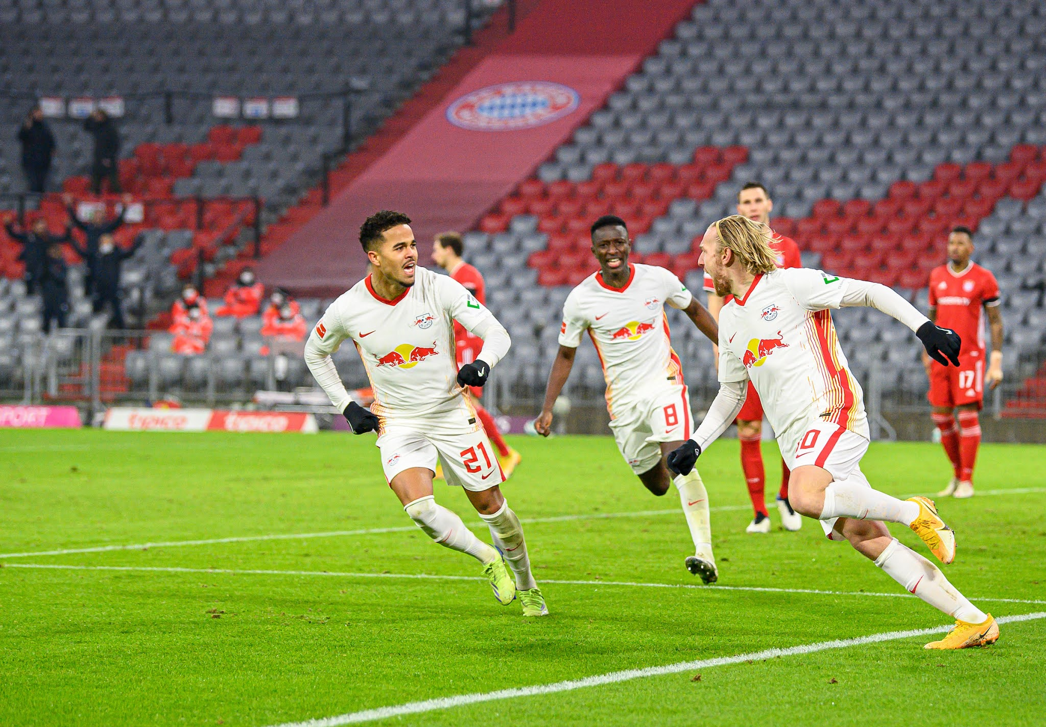 RB Leipzig are gaining momentum in the Bundesliga
