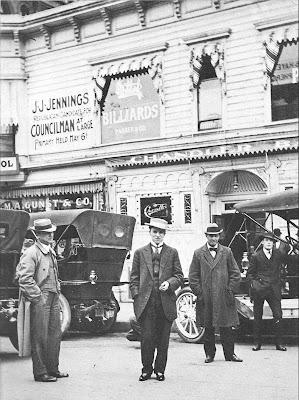 Чарли Чаплин в Сан-Франциско, ок. 1910-1911 гг.