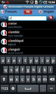 Dictionnaire francais pour vos smartphones