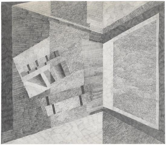Phyllida Barlow, drawing