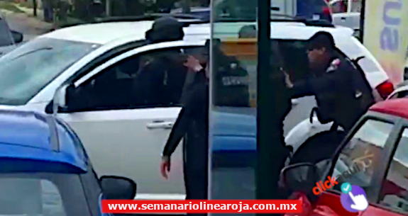 Misteriosa detención de la Policía Estatal en Playa del Carmen