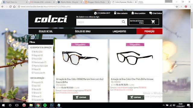 Eu não lembrava que a Colcci tinha Óculos também, até que fiz essa pesquisa  de Conteúdo pra mostrar pra vocês nesse post! Encontrei modelos de Óculos  de ... faad9999cf
