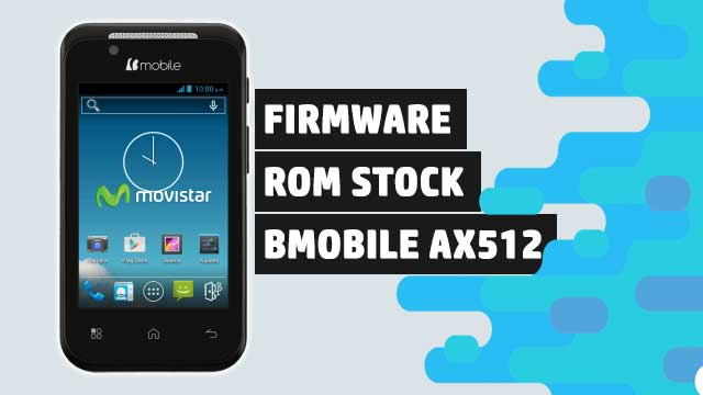 rom stock Bmobile AX512