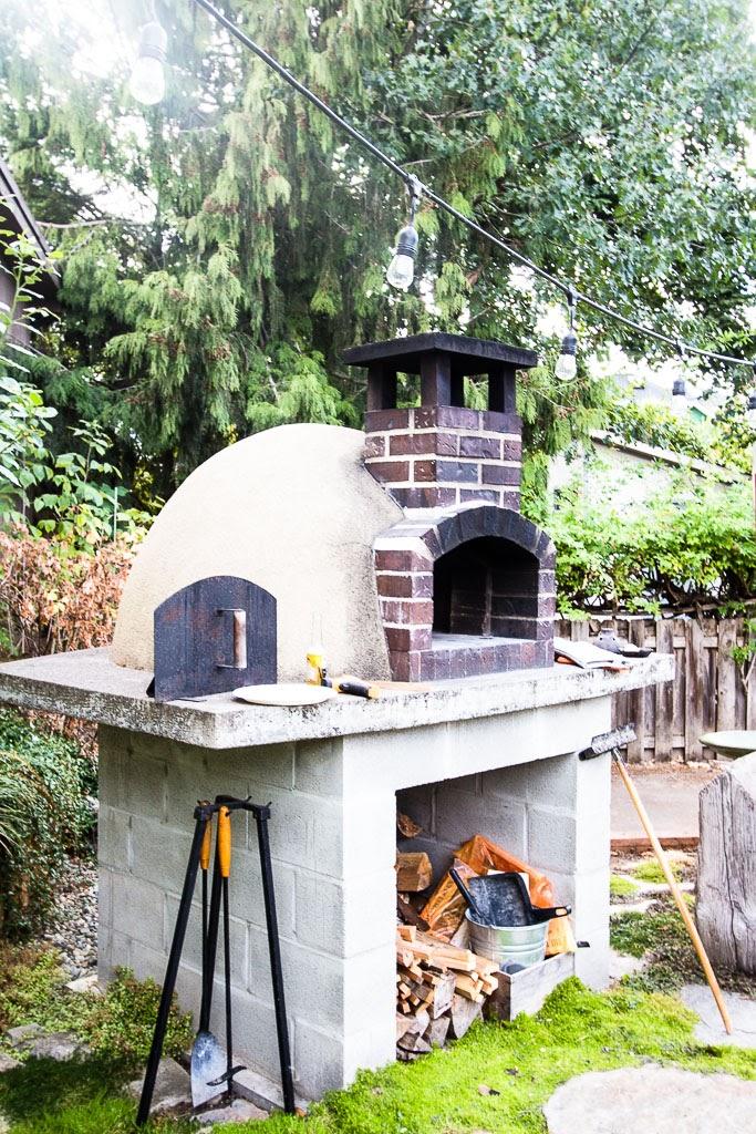 - My Backyard Brick Oven
