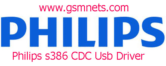 Philips s386 CDC Usb Driver Download
