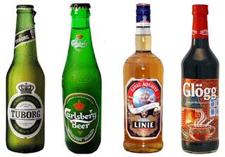 Bebidas típicas de Dinamarca