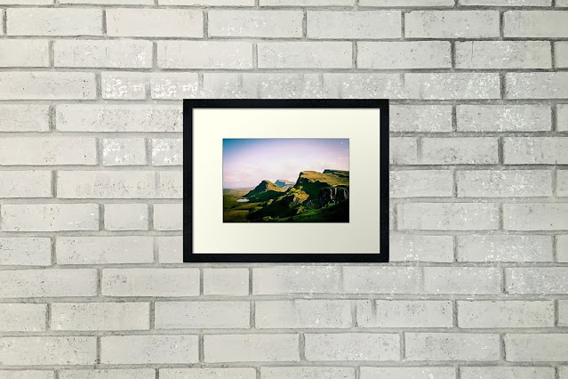 Quiraing in the Isle of Skye Scotland Travel Fine Art Print Horizontal Home Decor