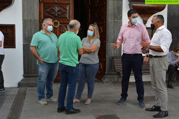El Cabildo reforma las instalaciones eléctricas de la Casa Kábana