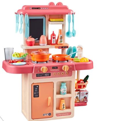 Jvm Little Chef Luxury Battery Operated Kitchen Play Set Super Toy For Kids
