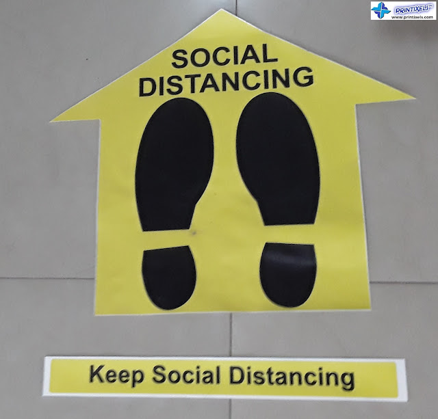 Keep Social Distancing Sticker