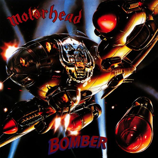 Motörhead's 1979 Bomber Album Cover by Adrian Chesterman