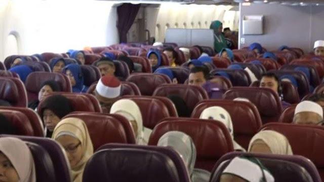 Video Ustadz Abdul Somad Berikan Ceramah di Atas Pesawat