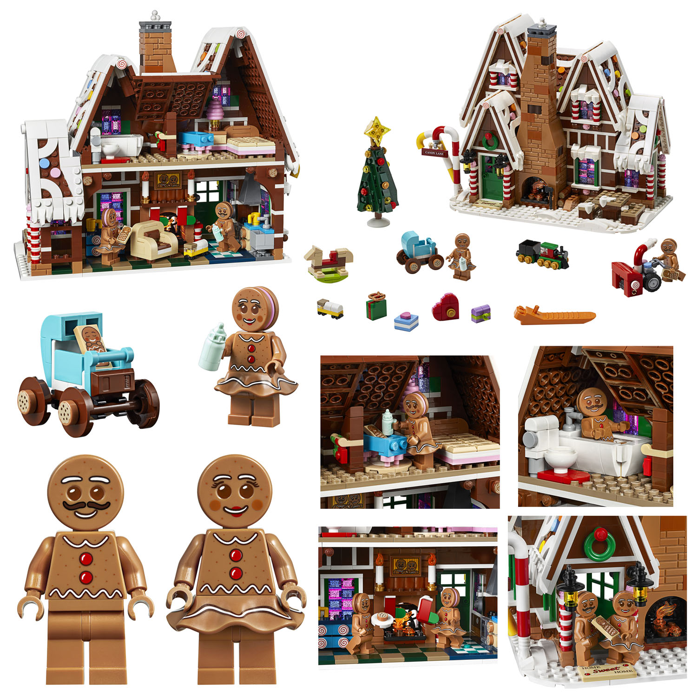 10267 ジンジャーブレッドハウス:レゴ(LEGO) クリエイター・エキスパート(ウィンタービレッジ)