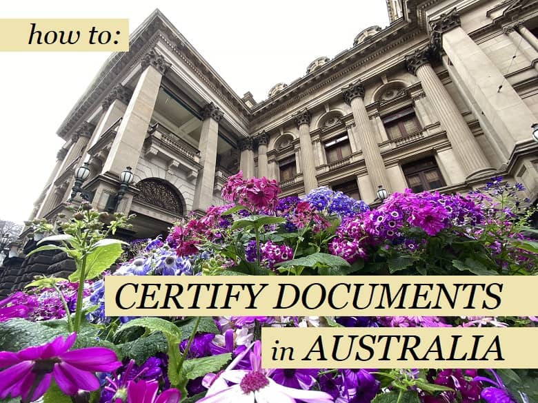 How to Get Your Documents Certified in Australia