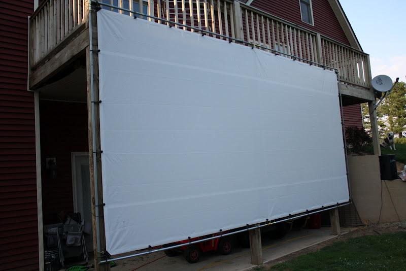 my barefoot farm outdoor movie nights. Black Bedroom Furniture Sets. Home Design Ideas