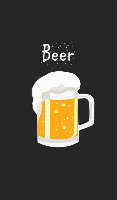 Cool cold beer