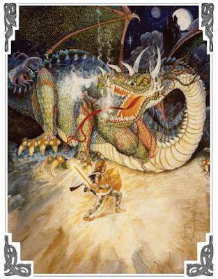 Fighting a Dragon in DragonRaid