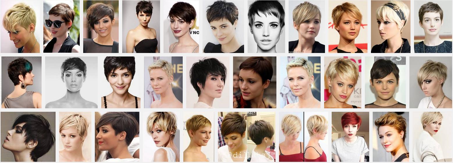 Clip Informasi Kumpulan Gaya Model Rambut Pendek Pixie Untuk Cewek Wanita Tahun 2015