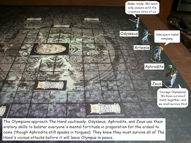 Kingdom Death Monster showdown Hand level 3