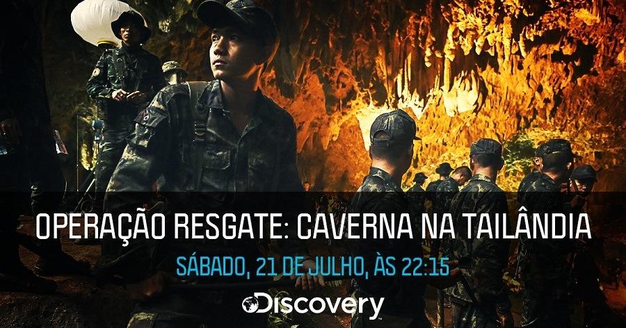 Imagens Operação Resgate - Caverna na Tailândia