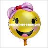 Balon Foil Seri EMOJI Cute