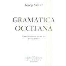 Josep Salvat, gramatica occitana