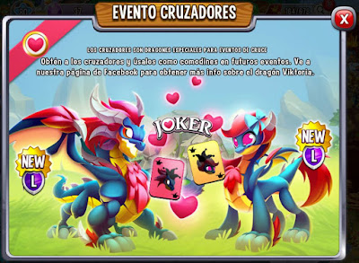 imagen de la segundo dragon del evento cruzadores de dragon city