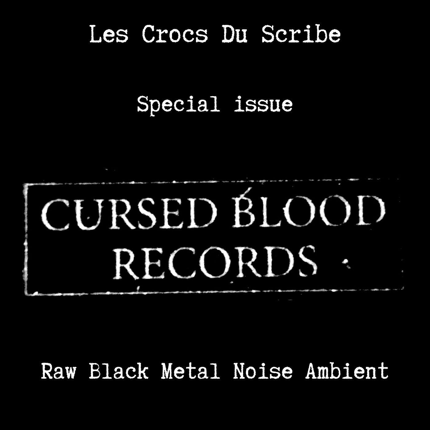 cursed blood records le scribe du rock reviews