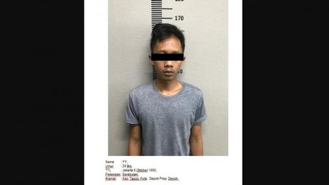 Polisi Tangkap Pria yang Mau Ledakkan Asrama Brimob dan Ancam Jokowi