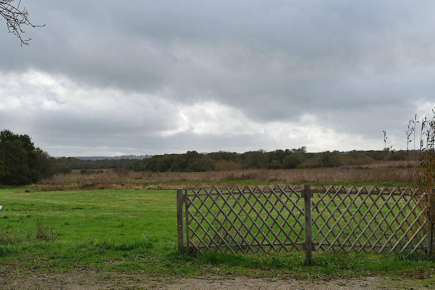 Le marais de Gannedel au mois d'octobre