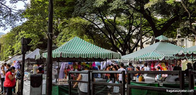 Feira de Artesanato da Avenida Afonso Pena, em Belo Horizonte