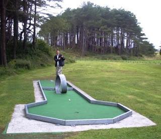 Crazy Golf course at Pembrey County Park