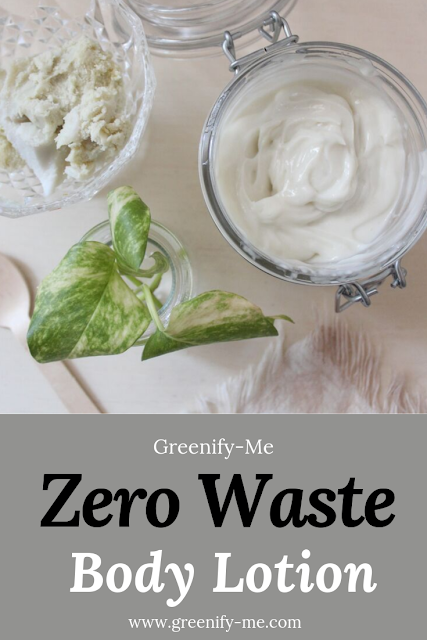 Zero Waste Body Lotion