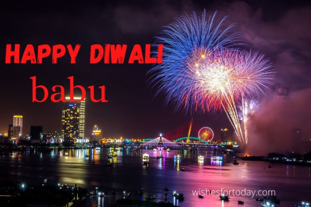 Happy Diwali Babu images