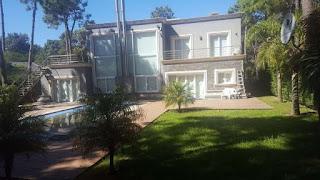 Una de las viviendas en las que se hizo el secuestro. (Gentileza)