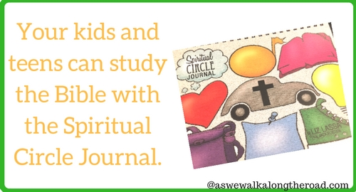 Bible study for kids with the Spiritual Circle Journal