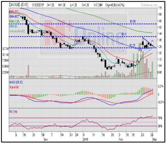 Dayang chart analysis