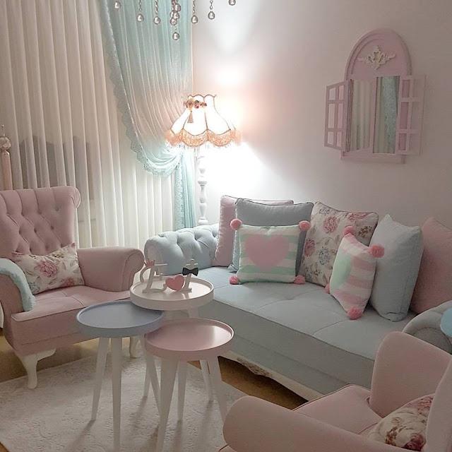 Cara Membuat Ruang Tamu Lebih Cantik Dan Shabby Chic