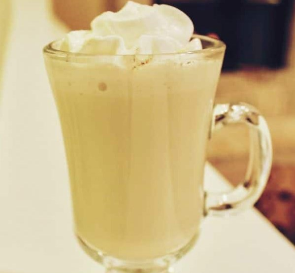 HOT VANILLA MILK #drinks #beverage