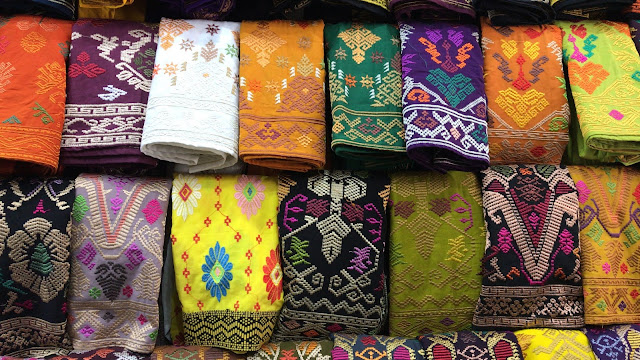 Tenun, Bordir and Songket Bali, Balinese Traditional Fabrics
