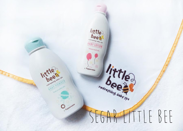 Pengalaman Mengatasi Bayi Rewel dengan Baby SPA [+Review Tupperware Little Bee]