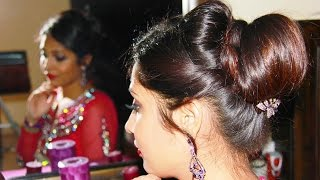 Indian Bridal Juda/Updo | Hairstyle Tutorial