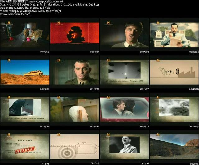 Armas Extrañas DVDRip Español Latino Descargar 1 Link Documental