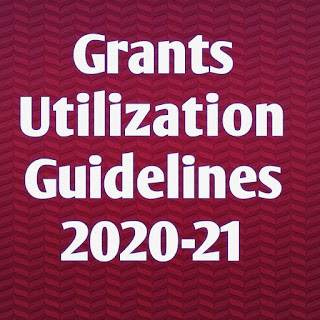 Grants Utilization Guidelines 2020-21