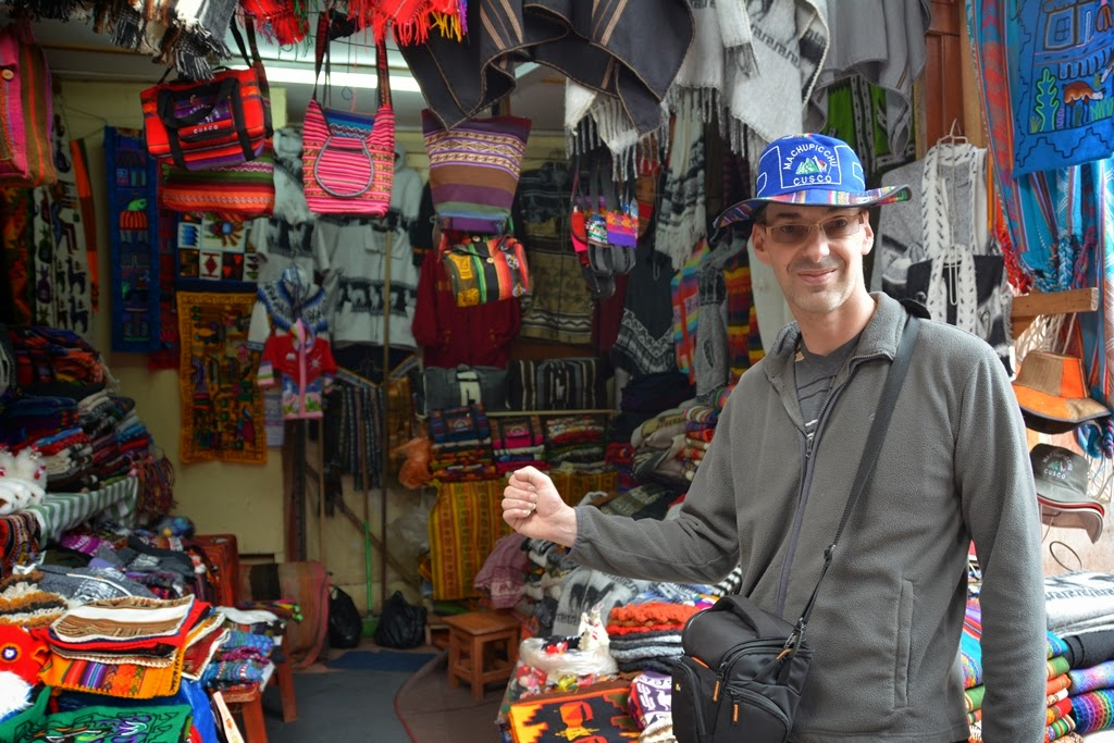 General Impressions of Cusco shopping