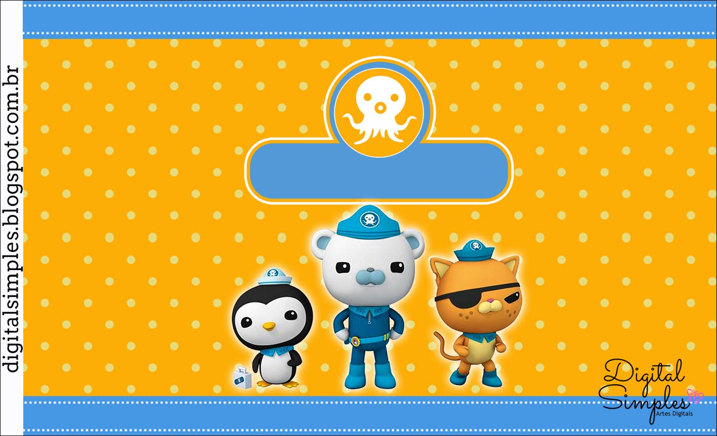 octonauts free printable candy bar