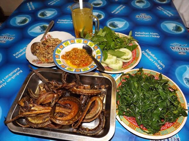 12 Kuliner Makanan Khas Bantul, Yogyakarta - Pecul welut khas Bantul