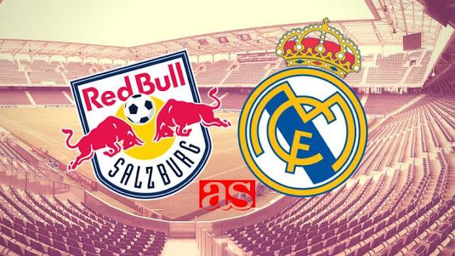 بث مباشر مباراة ريال مدريد وريد بول سالزبورغ اليوم 22-08-2020 دوري الأبطال للشباب
